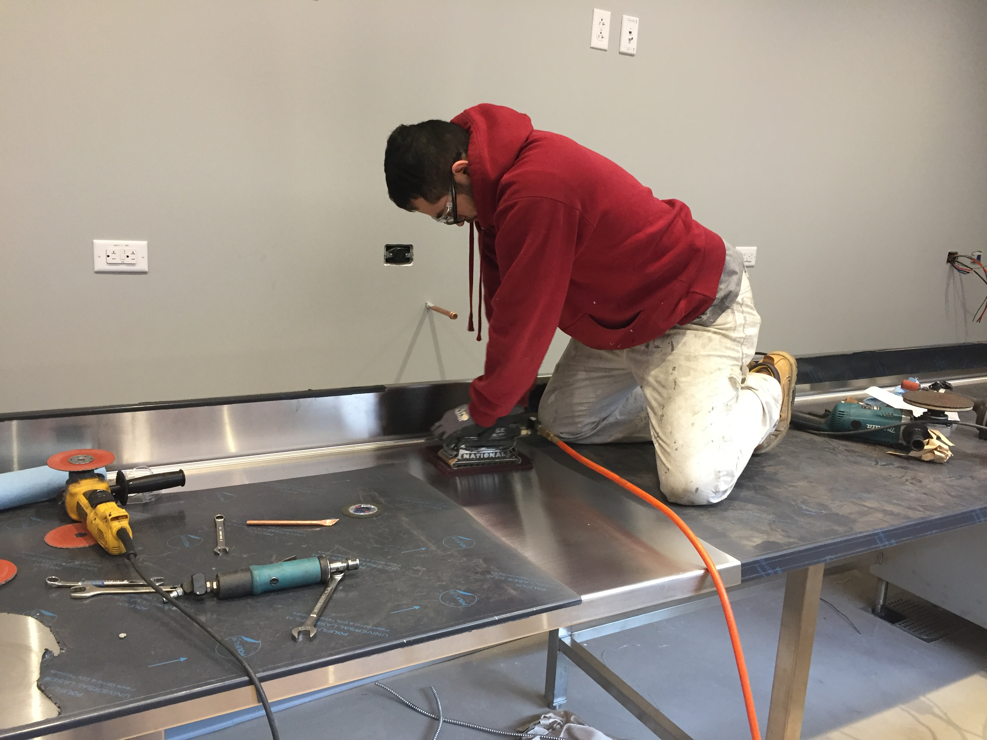 Kitchen Equipment Installation - JCK Welding, LLC. 65 Lake St. Shrewsbury, MA 01545
